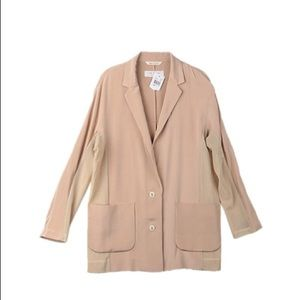 RAG & BONE - OVERSIZED SILK JACKET